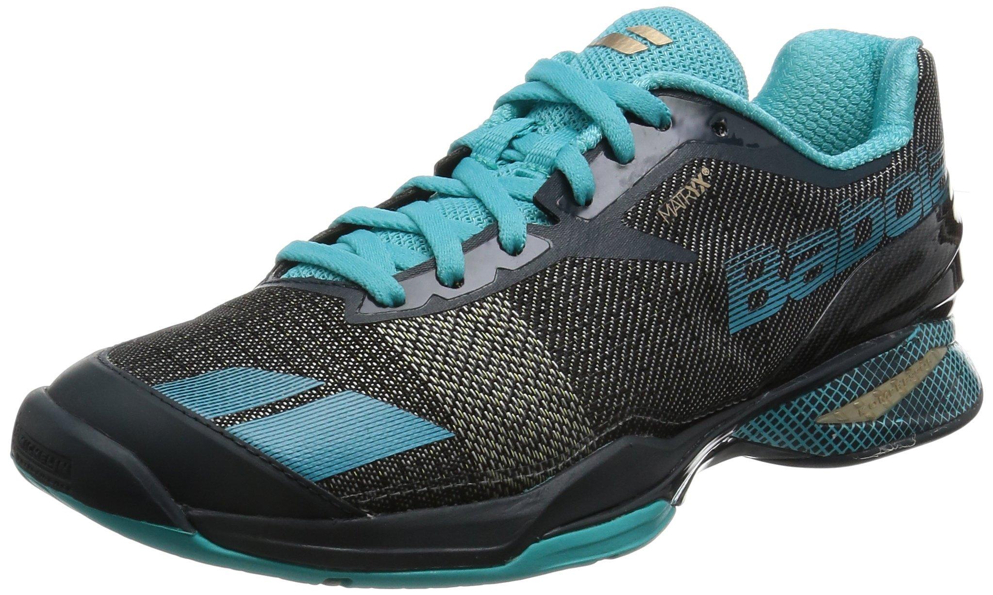 Babolat Women's Jet All Court W Tennis Shoe-6 1/2 B(M) US-Grey/Blue
