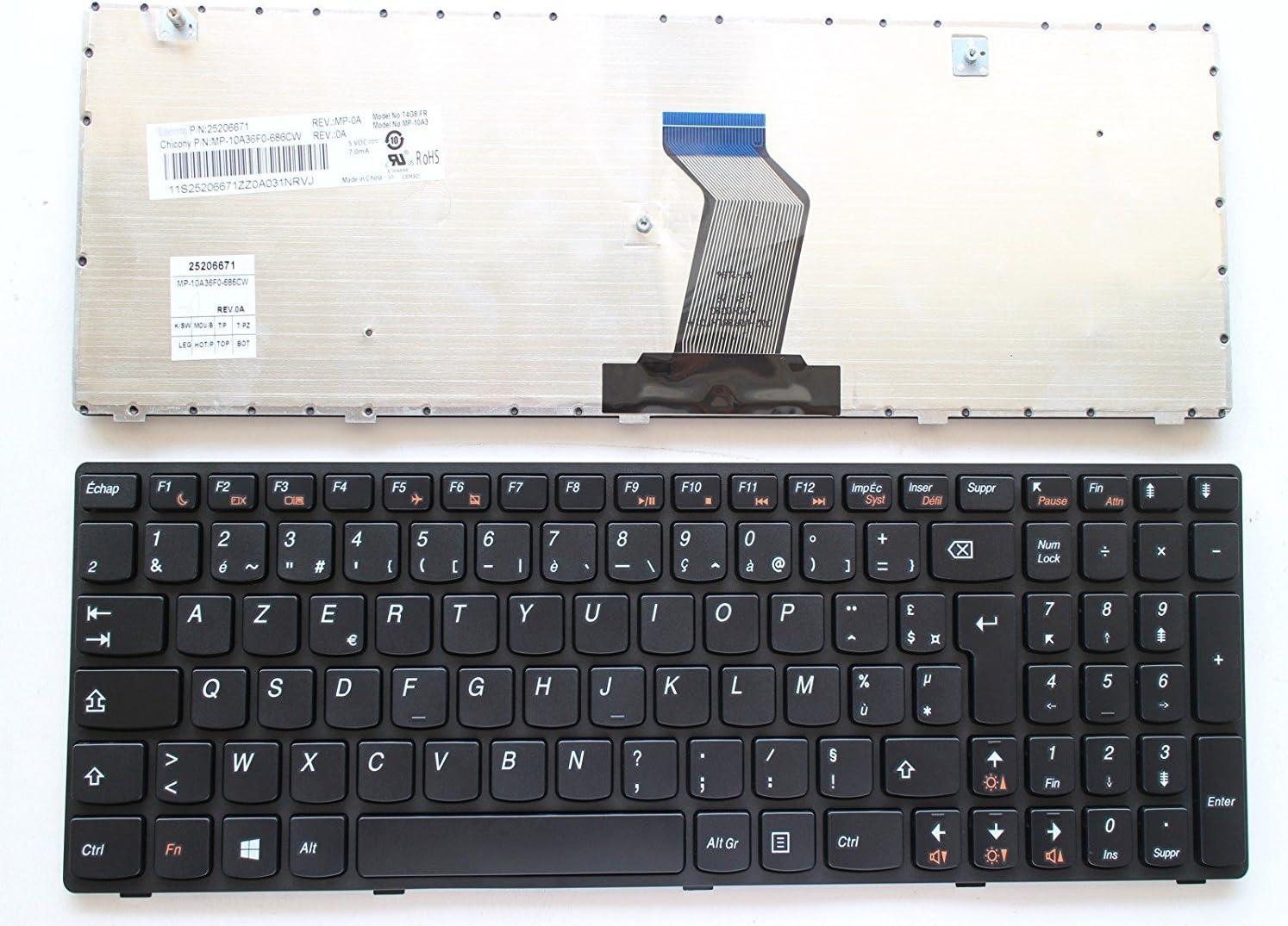Clavier Lenovo Ideapad Z560, Z560A, Z565, Z565A