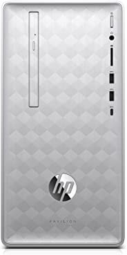 Newest HP Pavilion 590 Desktop Computer, 8th Intel 6 Cores i5-8400, 2.8GHz up to 4.0GHz, 8GB RAM and 16 GB Intel Optane Memor