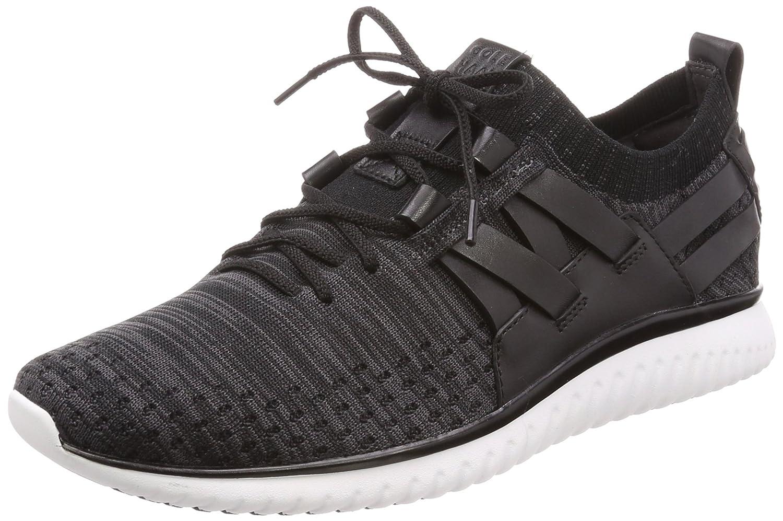 Black Knit Cole Haan Mens Grand Motion Knit Sneaker Sneakers