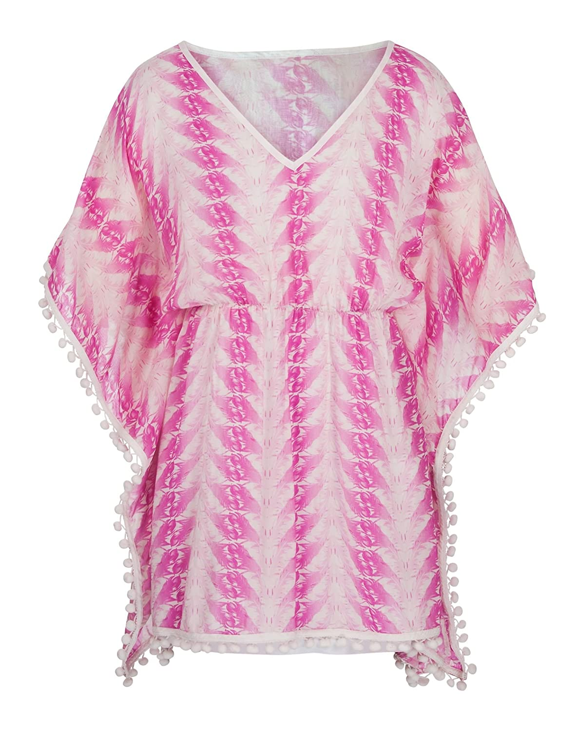 Snapper Rock Girls Kaftan Batwing Dress at the Beach or Pool Summer Beachwear 2016 Collection Blue/Purple 1-2 years 86-92cm 1113BW/2