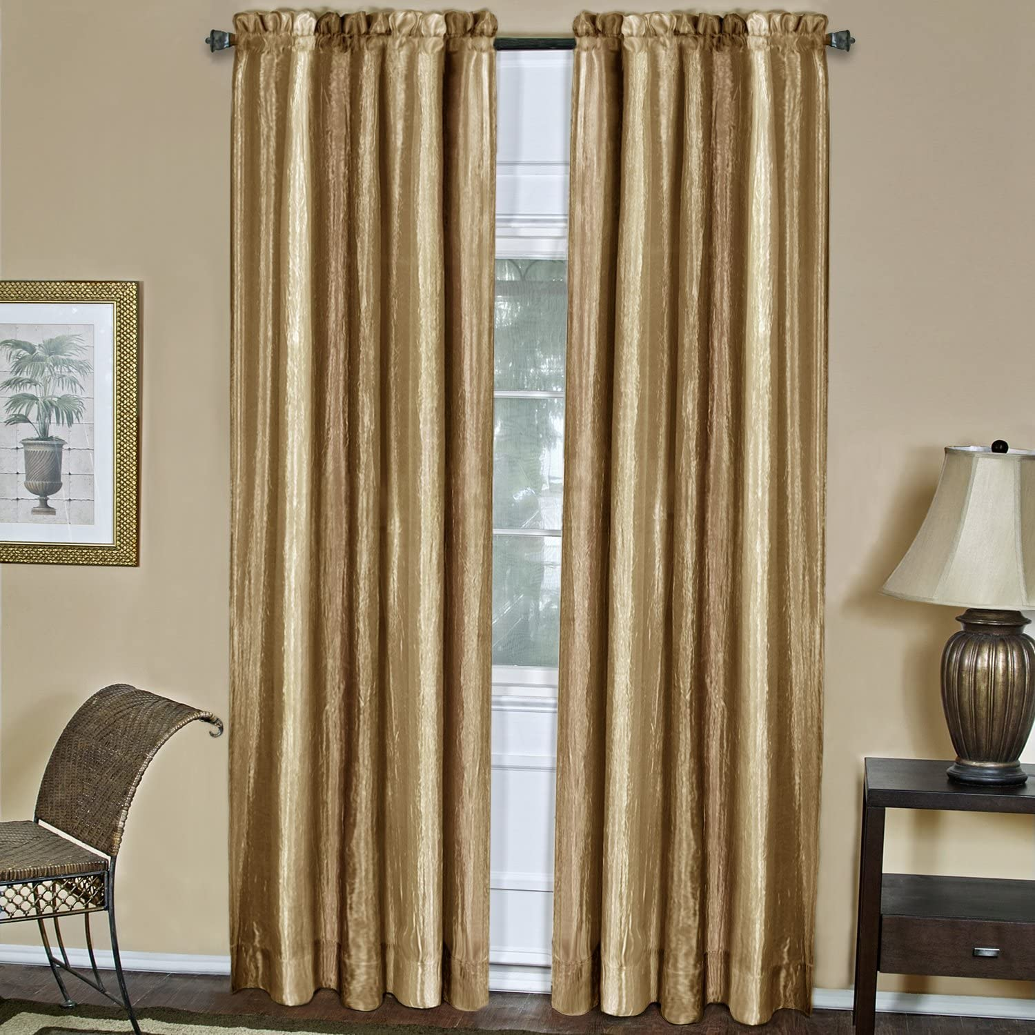 Achim Home Furnishings, Sandstone Ombre Window Panel, 50 84-Inch, Inch Inch