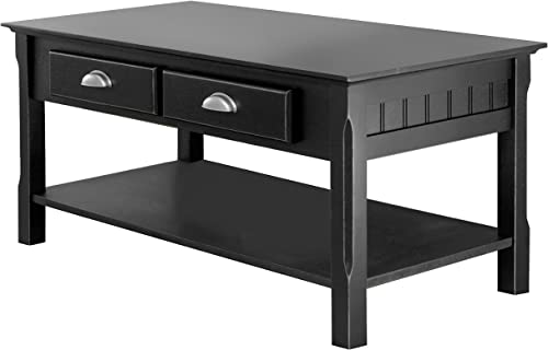 Winsome Timber Occasional Table, Black