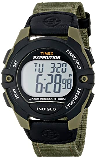 3d9feb330 Timex Expedition Classic Digital Chrono Alarm Timer 41mm Watch: Timex:  Amazon.ca: Watches