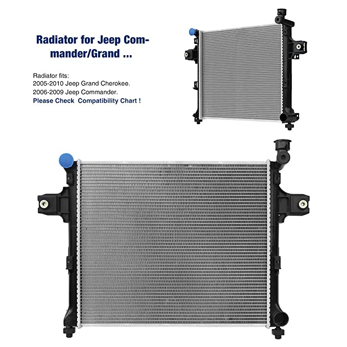 Amazon.com: STAYCO Radiator 2839 for Jeep Commander/Grand Cherokee: Automotive