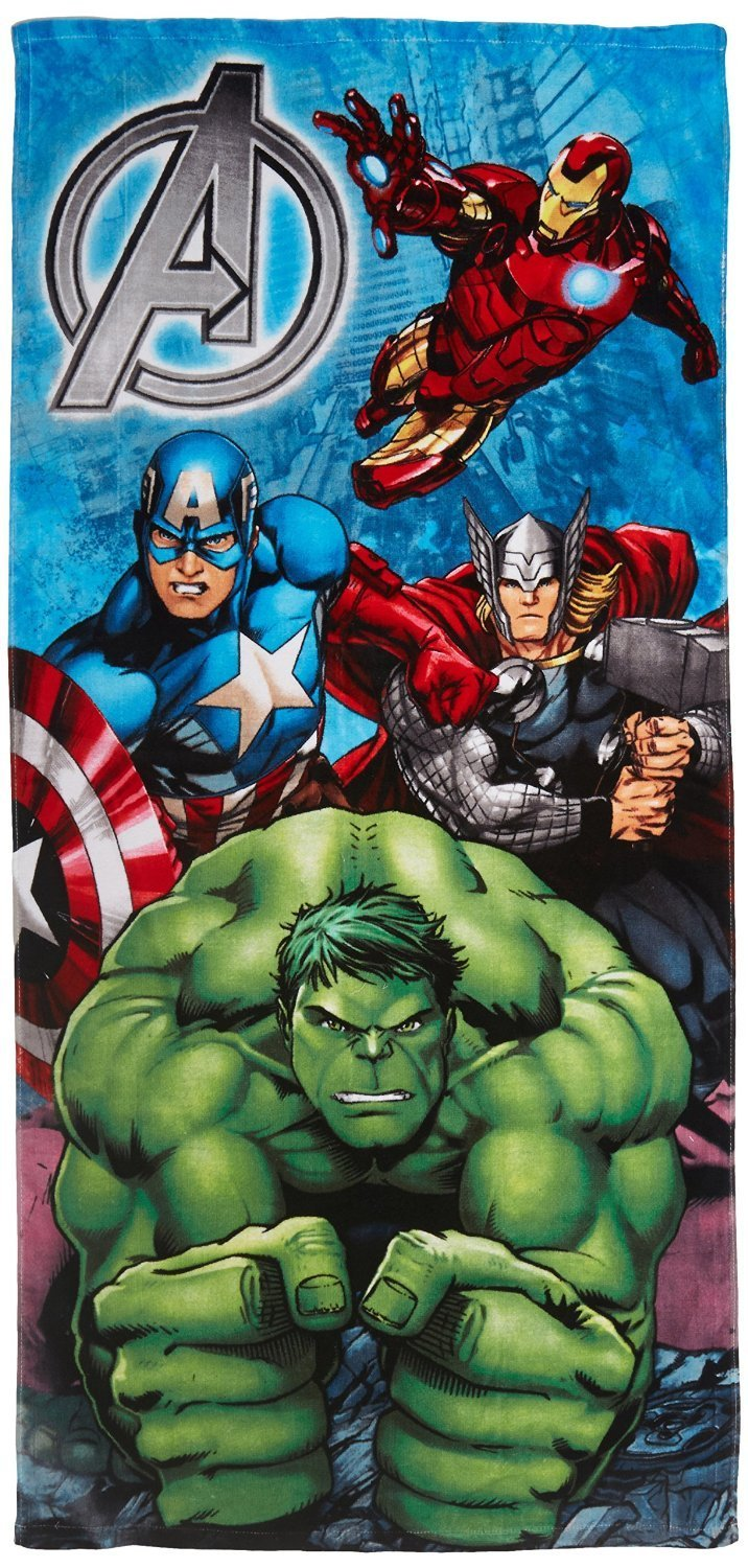 Marvel Avengers Crunch Beach Towel