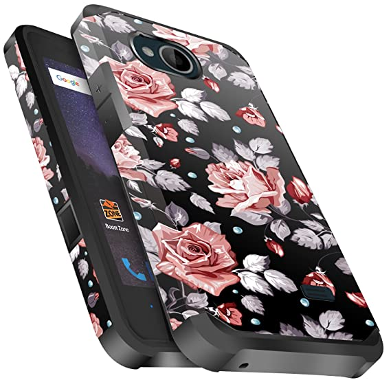 size 40 601b8 56deb ZTE Majesty Pro Case, ZTE Tempo Case, ZTE Majesty Pro Plus Case, Miss Arts  Slim Anti-Scratch Kit with [Drop Protection] Dual layer Cover Case for ZTE  ...
