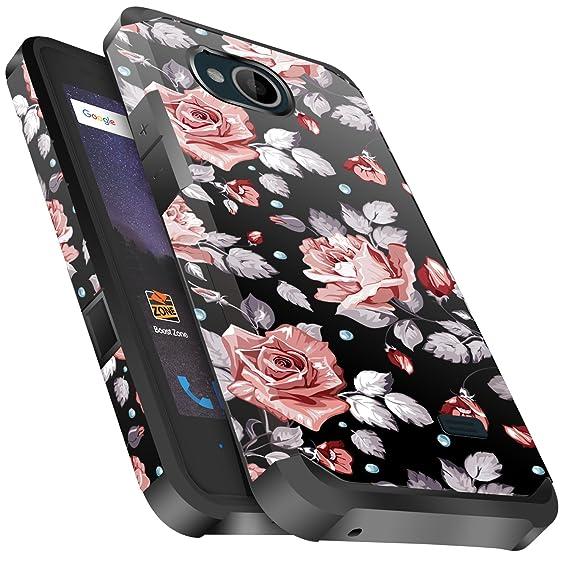 size 40 b9c2f 46709 ZTE Majesty Pro Case, ZTE Tempo Case, ZTE Majesty Pro Plus Case, Miss Arts  Slim Anti-Scratch Kit with [Drop Protection] Dual layer Cover Case for ZTE  ...