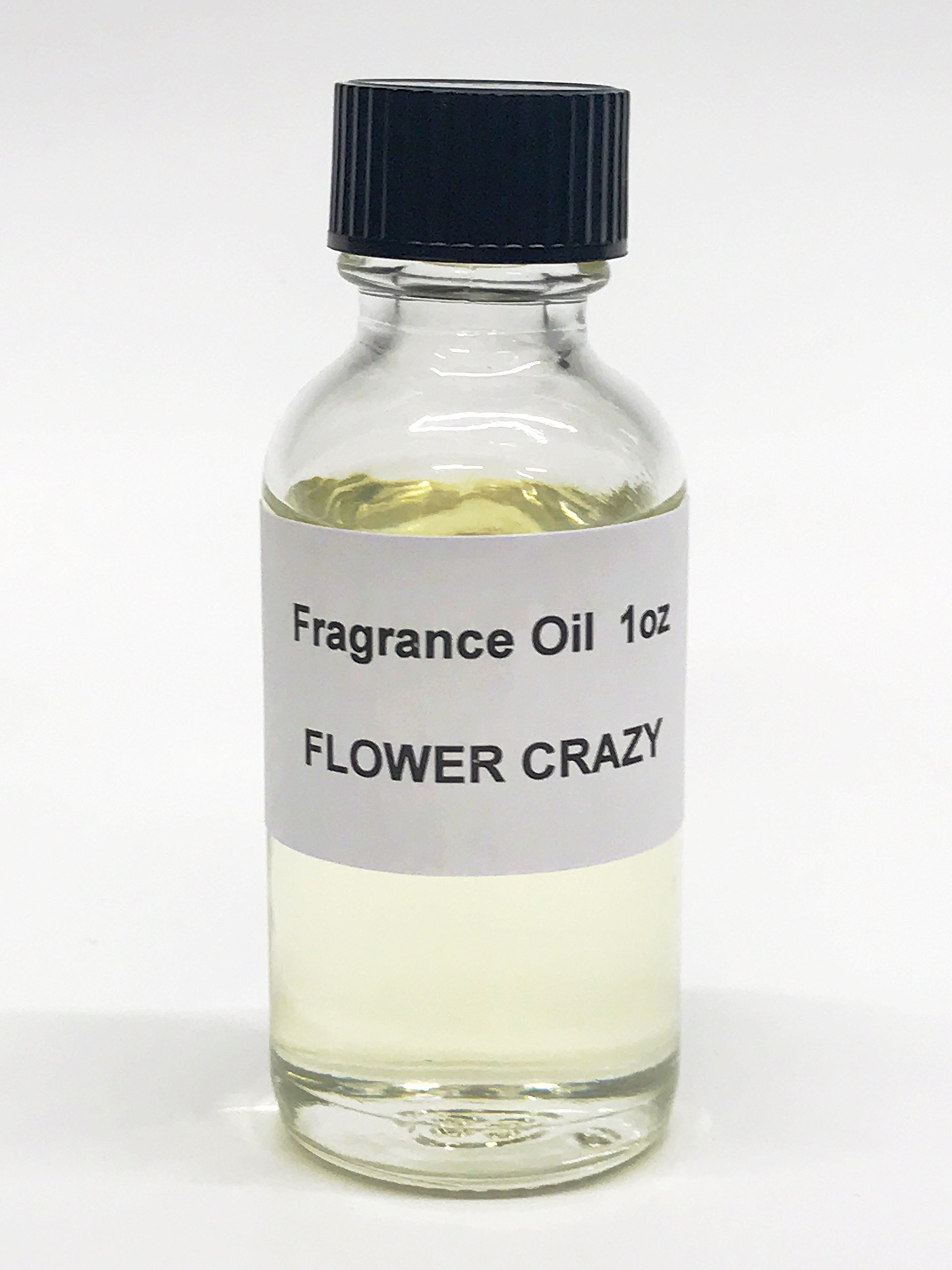 Flower Crazy Fragrance Oil Perfume Body Oil 1oz Alcohol-Free Made in the USA