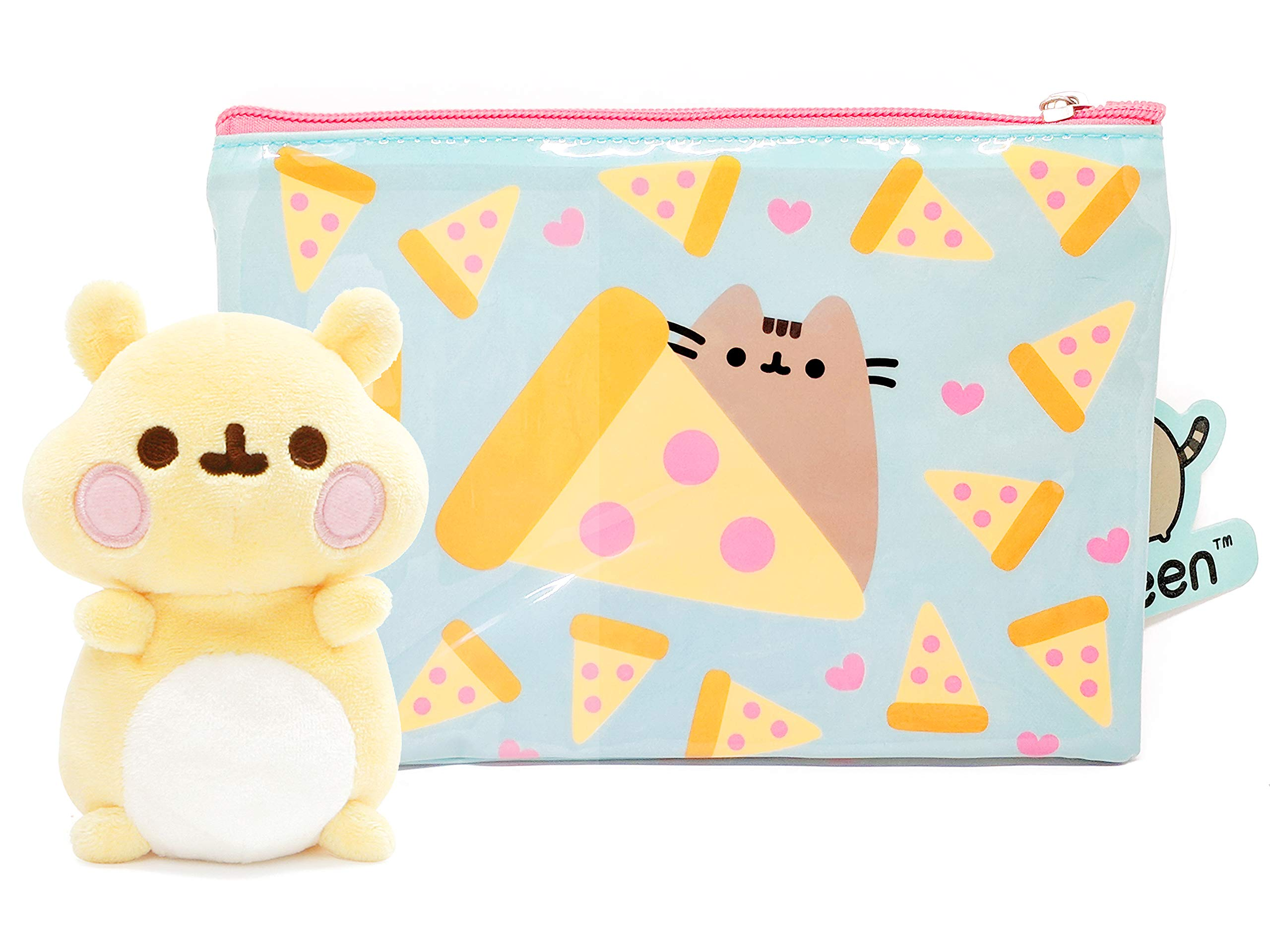 8d151f04fa0 Galleon - Pusheen Friend Cheek The Hamster Pizza Pouch