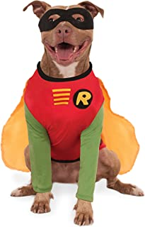 Rubies Costume Company DC Comics Robin Big Dog Boutique  sc 1 st  Amazon.com & Amazon.com : DC Comics Pet Costume Small Batman : Spiderman Dog ...