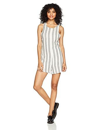a019b3478c36 Amazon.com  RVCA Women s Randy Romper  Clothing