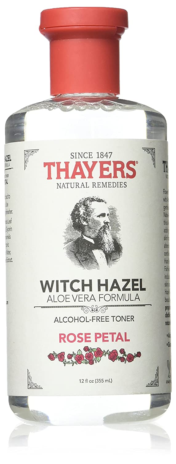 Thayers Alcohol-free Rose Petal Witch Hazel with Aloe Vera