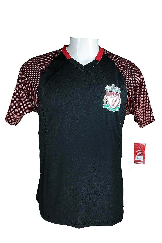 リバプールFCサッカー公式大人用サッカートレーニングパフォーマンスPoly Jersey p001 B06XB9K2N2Adult