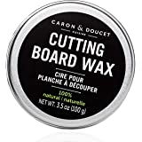 Caron & Doucet - Cutting Board & Butcher Block Wood Conditioning & Finishing Wax | 100% Plant-Based & Vegan, Best for…