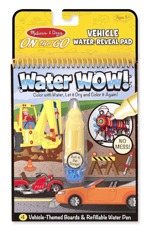 Amazon.com: Melissa & Doug On the Go Water Wow! Reusable Water ...
