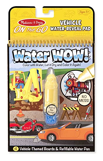 Melissa Doug Water Wow Coloring Book Vehicles | Coloring Pages