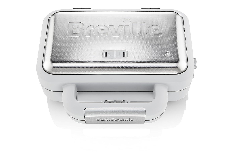 Breville Tostiera DuraCeramic, 850 W, Argento VST070X