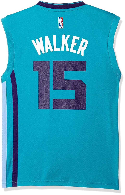 Adidas NBA Indiana Pacers Kemba Walker # 15 Hombres Camiseta de Jersey, Hombre, Azul Verdoso, Large: Amazon.es: Deportes y aire libre