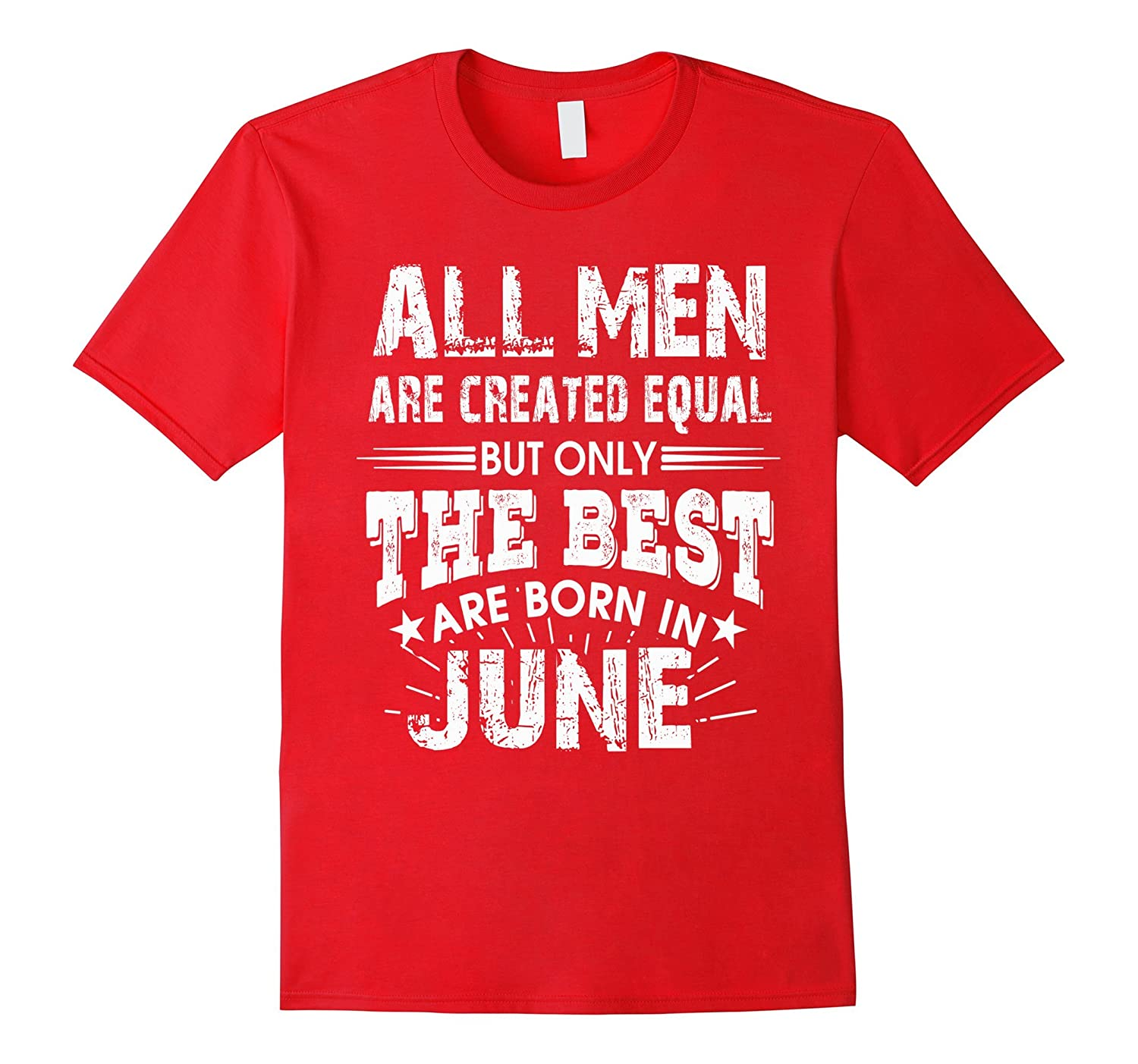 06 BORN IN JUNE SHIRT Men Vintage T-Shirt-CD