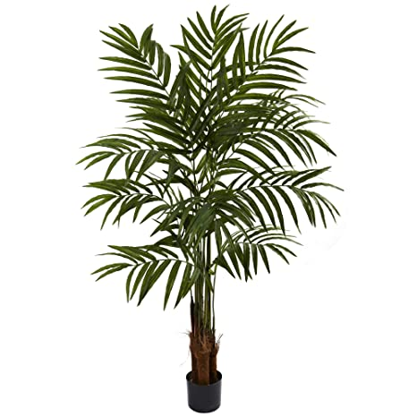 Nearly Natural 5414 Big Palm Tree, 5-Feet, Green on
