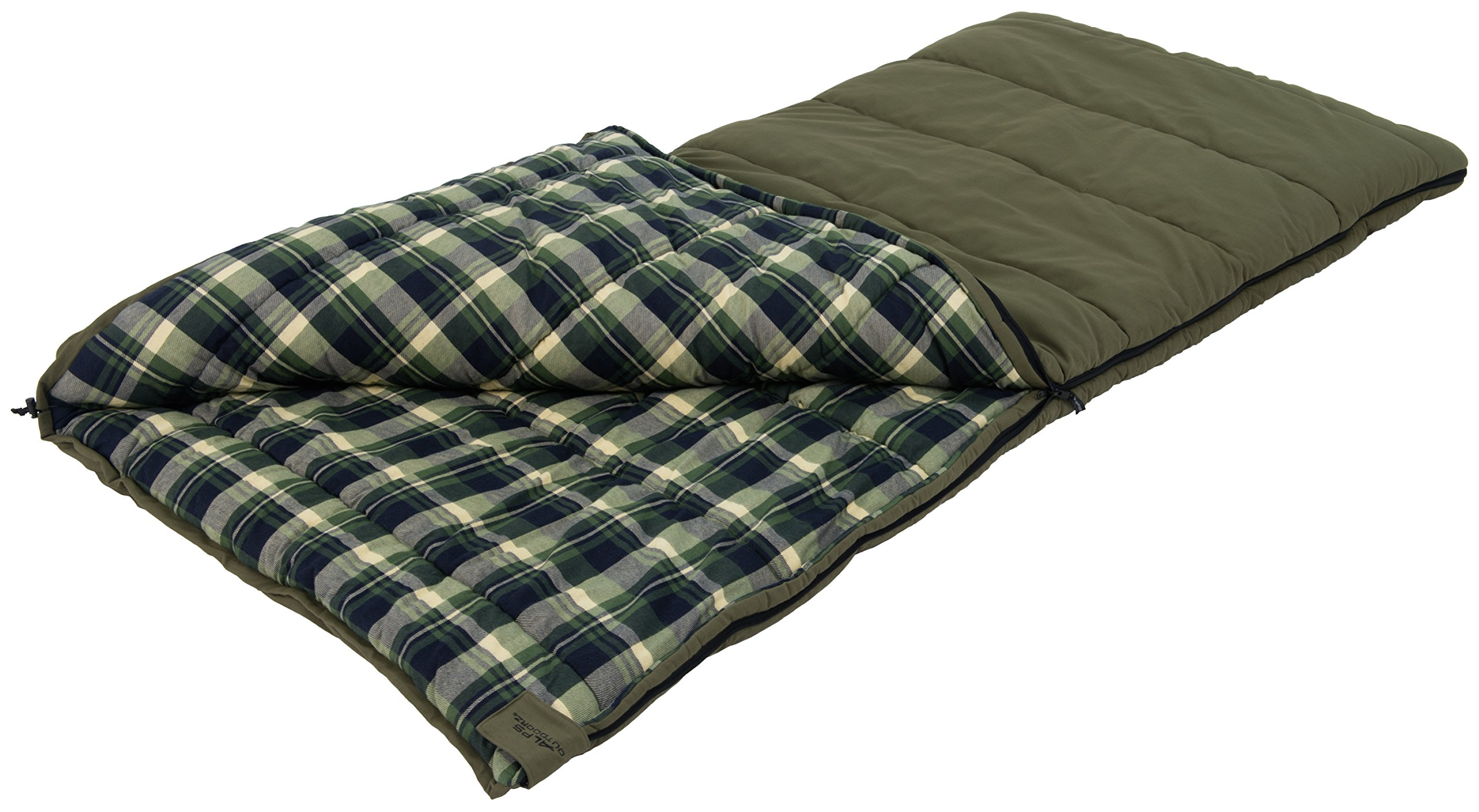 ALPS OutdoorZ Redwood -10 Degree Flannel Sleeping Bag by ALPS OutdoorZ