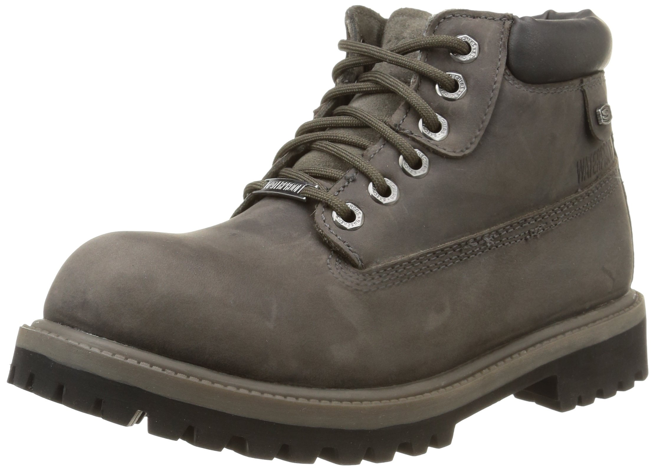 Skechers USA Men's Verdict Men's Boot,Charcoal,8 M US by Skechers
