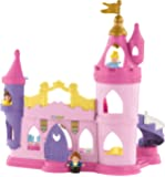 Fisher-Price Toy - Disney Princess Little People Musical Dancing Palace - Belle Cinderella Figure