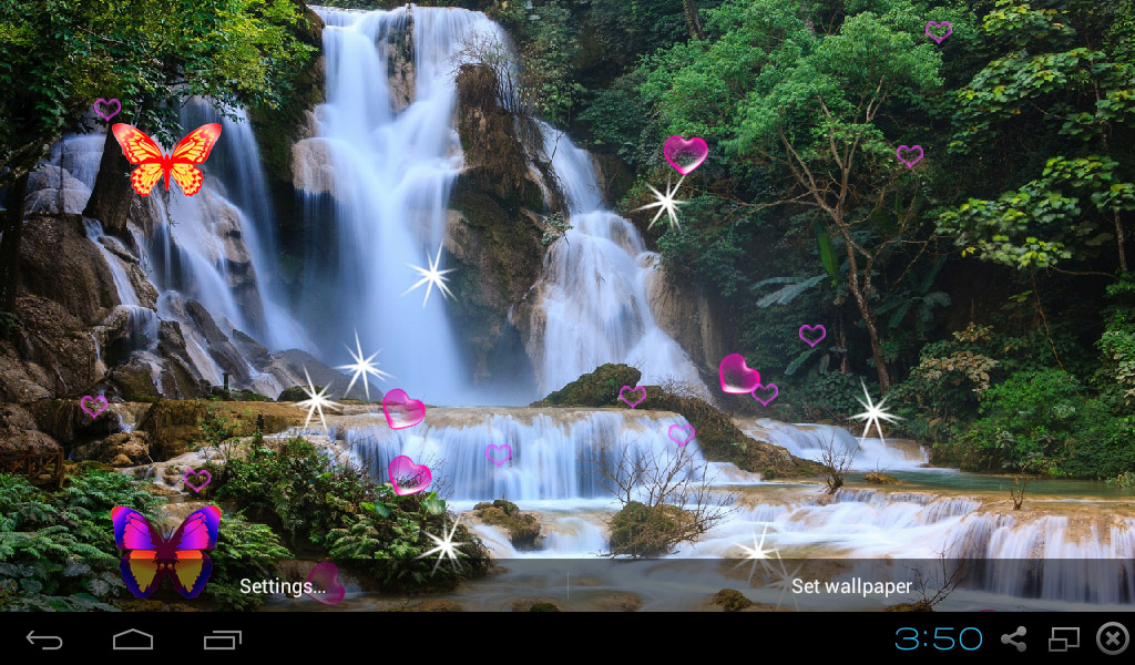 Amazon.com: 3D Waterfall Live Wallpaper: Appstore For Android