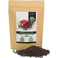 Pimienta negra granos (250g), granos de pimienta negra 100% naturalmente pura, Pimienta negra entera especia natural sin…