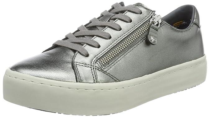 Tommy Hilfiger J1285upiter 2z2, Sneakers Basses Femme, Argent (Dark Silver), 37 EU
