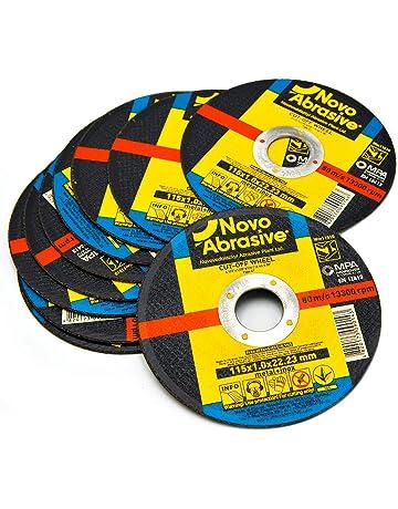 NOVOABRASIVE Discos De Corte 115 x 1,0 x 22,2 mm. Juego