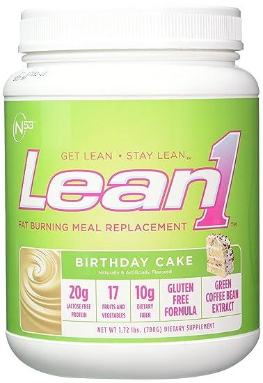 Amazon Nutrition 53 Lean 1 Birthday Cake 17 Pound Health