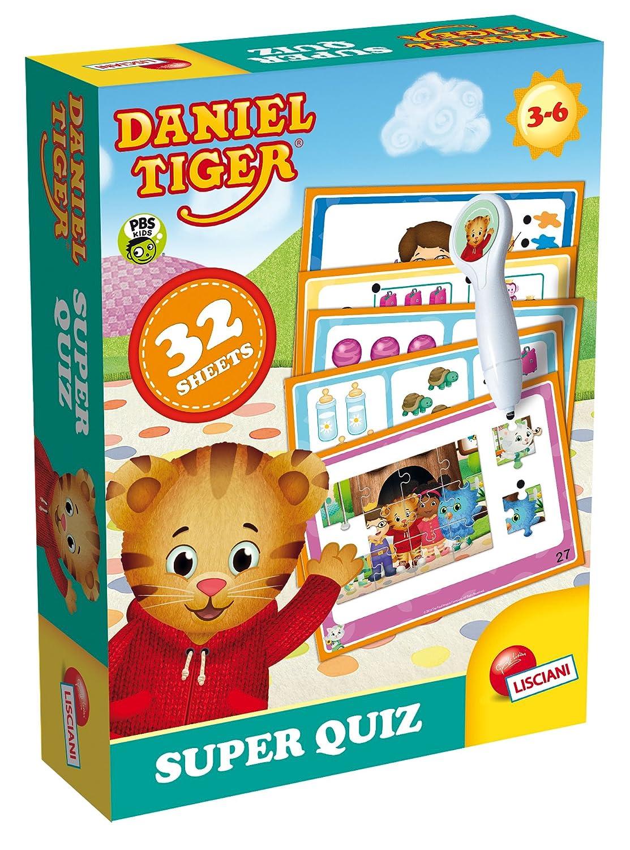 Lisciani Giochi 56552 - Daniel Tiger Super Quiz Liscianigiochi Italy
