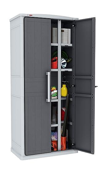 Keter Aufbewahrungsschrank Optima Wonder Cabinet Tall Grau
