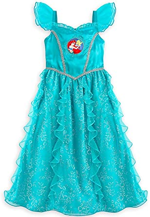 946d233679 Amazon.com  Disney Store Girl s Ariel Nightgown Ariel Sleepwear ...