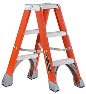 Louisville Ladder FM1503 Twin Front Stepladder, 3-Feet