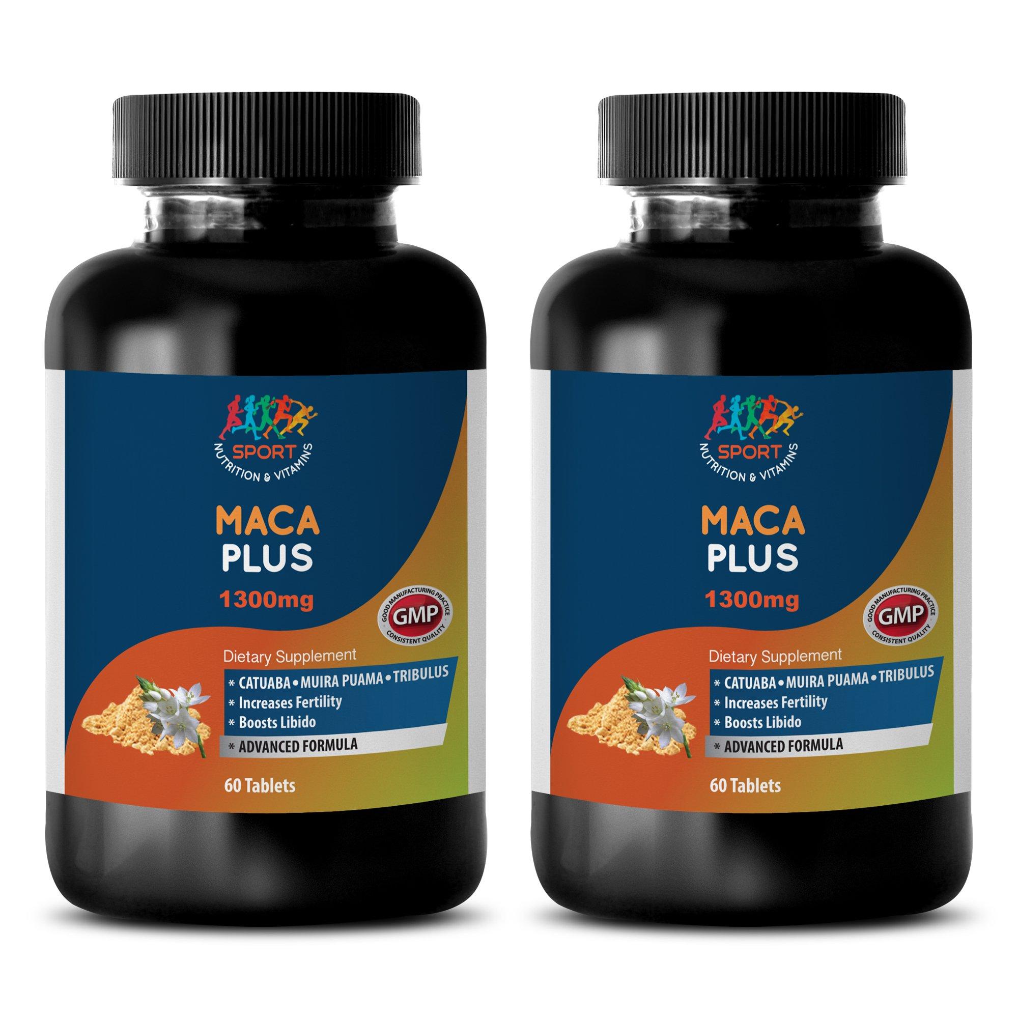 Increase sexual desire for women - MACA PLUS - Maca root women - 2 Bottles 120 Tablets