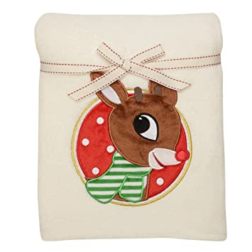 Image Unavailable. Image not available for. Color  Rudolph the Red Nosed  Reindeer 30x40 quot  Blanket 2c9b43667