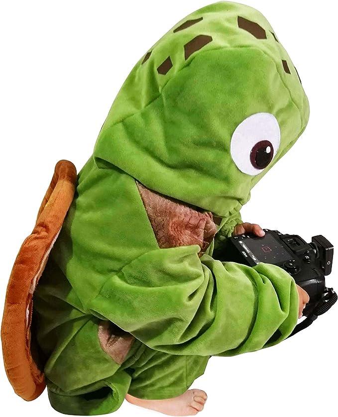 Amazon.com: Disfraz de tortuga marina para niños, unisex ...