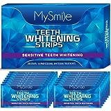 MySmile Teeth Whitening Strips, 28 3D Whitestrips Teeth Whitening Kit, Non-Sensitive White Strips, 14 Treatment Teeth Whitene