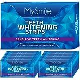 MySmile Teeth Whitening Strips, 28 Non-Sensitive White Strips Teeth Whitening Kit, 14 Treatment Teeth Whitener for Tooth…