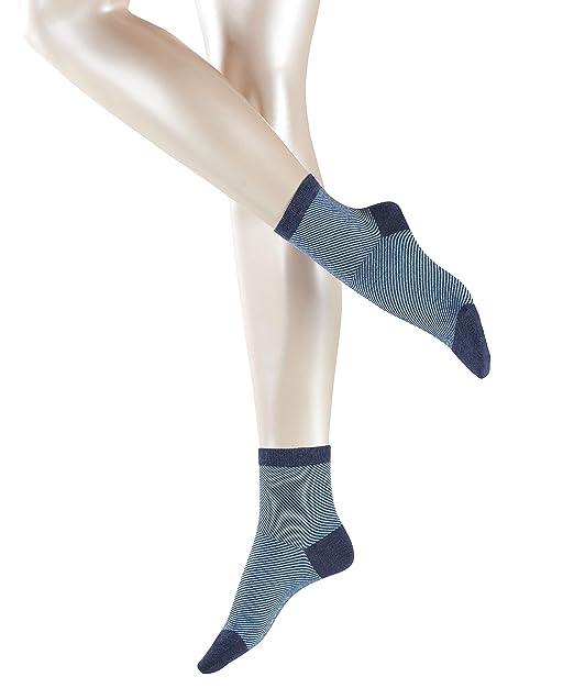 Esprit Diagonal Shortsocks, Calcetines para Mujer: Amazon.es ...