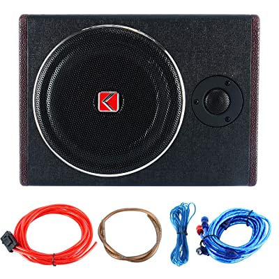 """8"""" 600W Active Under Seat Car Sub Woofer Stereo Power Amplifier Enclosure Speaker: Car Electronics"""