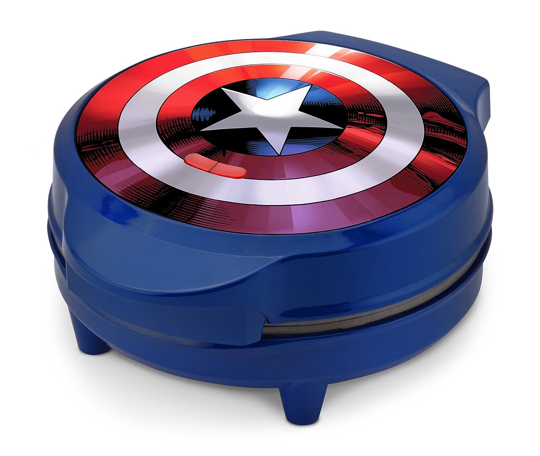 Marvel MVA-278 Captain America Waffle Maker, Blue Select Brands Inc
