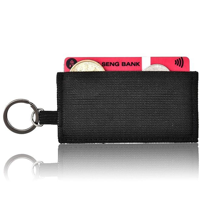 Amazon.com: Kinzd - Cartera minimalista y delgada, bolsillo ...