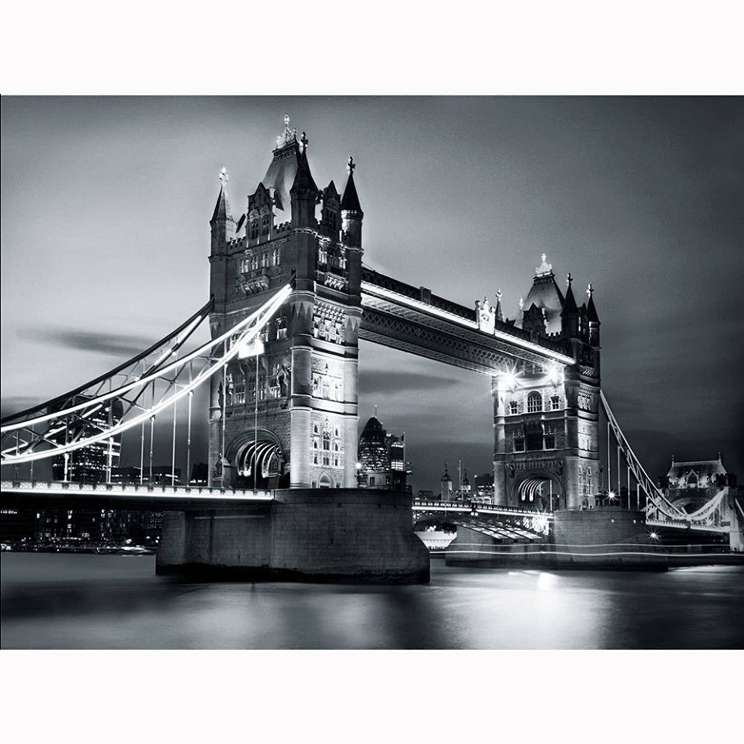 1wall giant london tower bridge wall mural amazon diy tools amipublicfo Choice Image