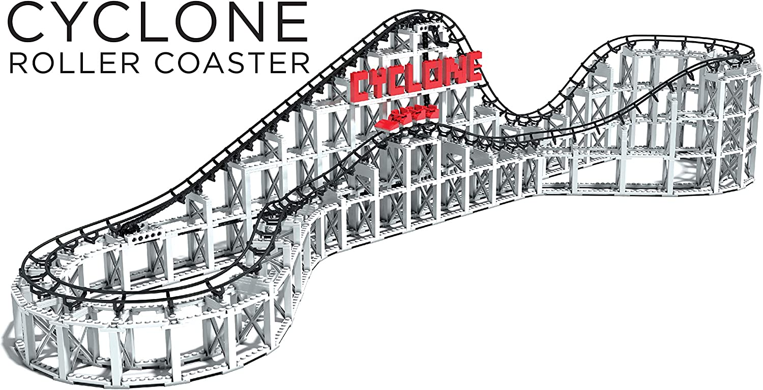 CDX Blocks Cyclone Roller Coaster Building Block System