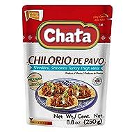 Chata Turkey Chilorio Seasoned Shredded Turkey Chilorio de Pavo Pouch 8.8 ounces