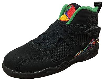 Jordan Retro 8 quot Air Raid Black Light Concord-Aloe Verde (PS) 025532874